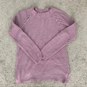 Marshall's Pink Rose Sweater